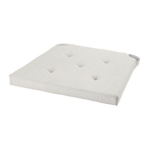 Ikea JUSTINA - Cuscino per sedia, colore naturale