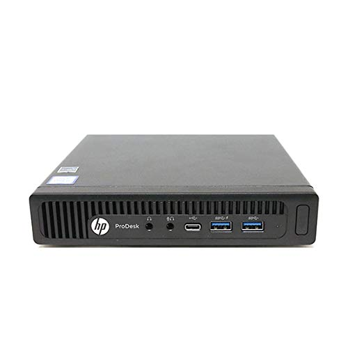 HP 600 G1 Micro Computer Mini Tower PC (Intel Quad Core i3-4160T, 8GB DDR3 Ram, 256GB Solid State SSD, WIFI, VGA, USB 3.0) Win 10 Pro (Renewed) Interno unidad de disco óptico