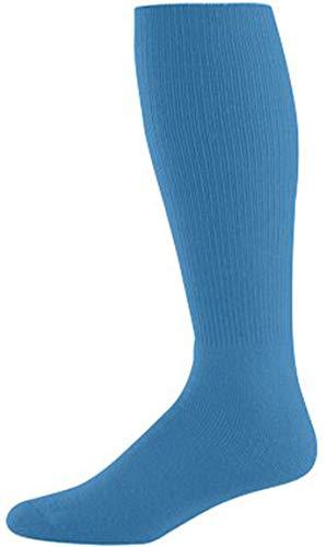 Joe's USA - Baseball Game Socks Columbia Blue, Intermediate (9-11)