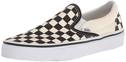 Vans Unisex Adults' Classic Slip On, Black/Off White Check, 6.5 UK