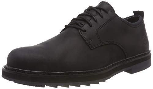 Timberland Squall Canyon, Zapatos de Cordones Oxford Hombre, Negro Black Full Grain, 43.5 EU