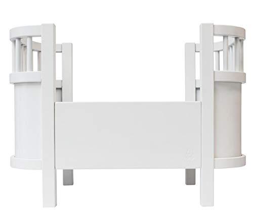 Sebra - Puppenbett - Spielzeugbett - Sperrholz - weiß