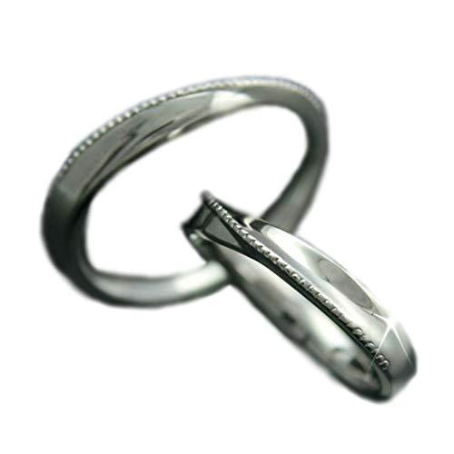 [ココカル]cococaru ペアリング プラチナ 結婚指輪 Pt900 2本セット マリッジリング 日本製 (レディースサイズ1号 メンズサイズ12号)