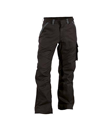 Dassy Bundhose STARK, 295 g/m², schwarz/grau, Gr: 50 (- 5cm)