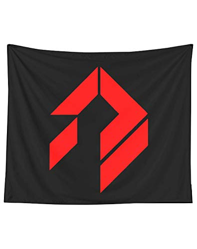 Destiny Siva Symbol [red] Wall Art Tapestries for Dorms Bedroom Living Room Colorful Décor