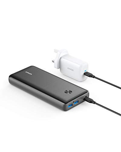 Anker Power Bank, PowerCore III Elite 25600 PD 60W with 65W PD Charger, Power Delivery Portable Charger Bundle for iPad Pro 2020, iPhone 11 Pro / 11 / X / 8, and More