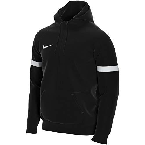 Nike Herren Strike 21 Fleece 1/2-Zip Hoodie Hoody, Black/White/White, XL
