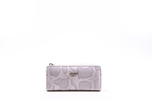 Guess Cate SLG Slim Zip Wallet PV621652 Damenbörse 19x9x2cm bone multi