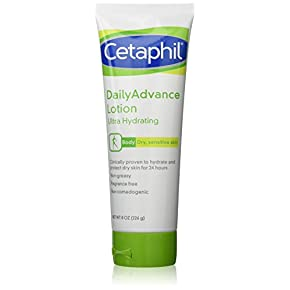 Cetaphil DailyAdvance Ultra Hydrating Lotion for Dry/Sensitive Skin 8 oz ( Pack of 2)