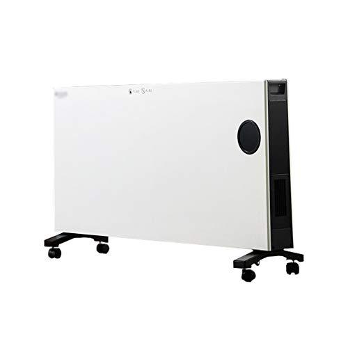 SHENXINCI Emisor Térmico Bajo Consumo Calentador,Pantalla Digital LCD, Mando a Distancia, Funcionamiento Programable,Control Remoto Teclas,Aluminio, 3000W / 2500W