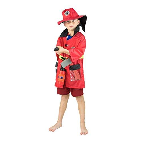 Bodysocks® Costume da Pompiere per Bambini