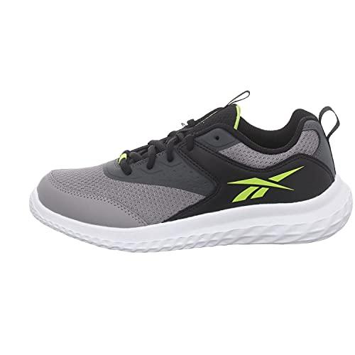Reebok Rush Runner 4.0, Zapatillas de Running, PUGRY5/NEGRO/ACIYEL, 35 EU