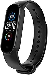 M5 Smart Watch Touch screen compatible with Android and iOS - Black