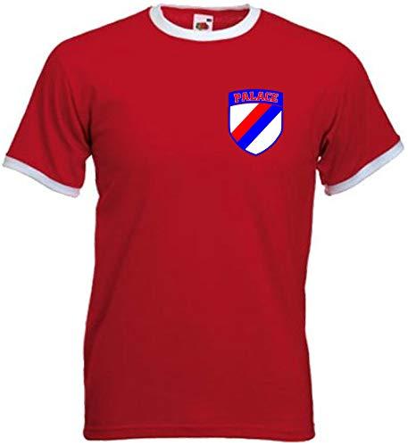Crystal Palace FC Fußball-T-Shirt, Rot, Größe S - 5XL Gr. XL, rot