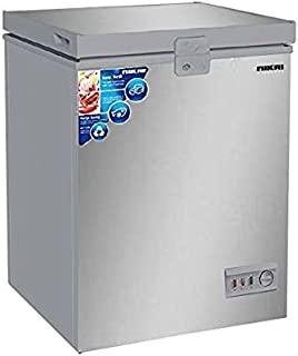 Nikai 150 Liters Chest Freezer with Anti Scratch Cabinet, Silver - NCF150N7S, 1 Year Warranty