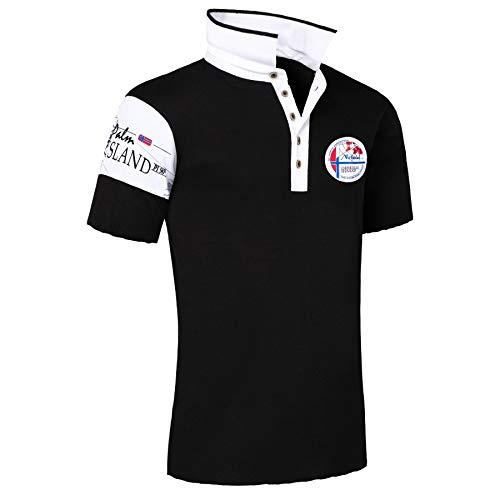 Nebulus Poloshirt PAITAS Herren, schwarz - XL