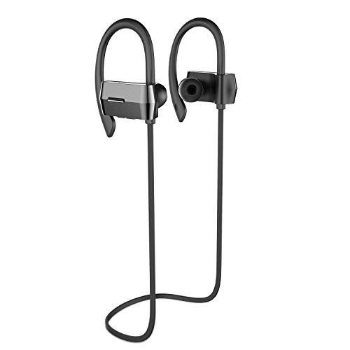 UMIDIGI Bluetooth Headphones, Wireless Sport Earbuds Sweatproof Running In-ear Headsets Stereo with Bass Noise Cancelling Bluetooth 4.1 earphones for iPhones, Android Phones & More