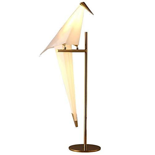 PDXZM Tischlampen Vogel Origami Lampe Minimalistische Stil Tausend Papierkran Tischlampe Führte Kreative Einfache Zimmer Studie Schlafzimmer Nachttischlampe Nachtlicht Lebte Tischlampe Vintage