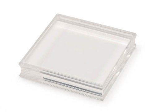Darice SCR362 3-Inch by 3-Inch Acrylic Stamp Mounting Block