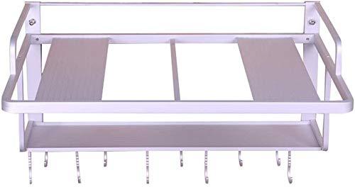 lqgpsx Doppelte Wand-Mikrowelle Aus Aluminium/Elektrische Elektroherdhalterung/Aufbewahrungsregal Für Die Küche