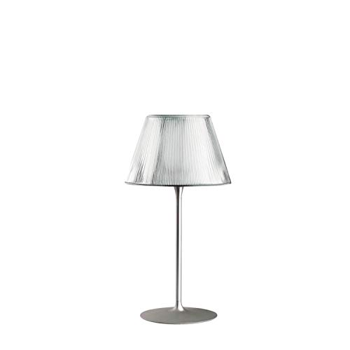 Lámpara de sobremesa, colección Romeo Moon, versión Table 1, 150W, cristal, 50 x 50 x 66,5 centímetros, color transparente (referencia: F6107000)