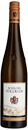 Weingut Schloss Vollrads Schlossberg - VDP. Großes Gewächs Qualitätswein Riesling 2015 Trocken (1 x 0.75 l)
