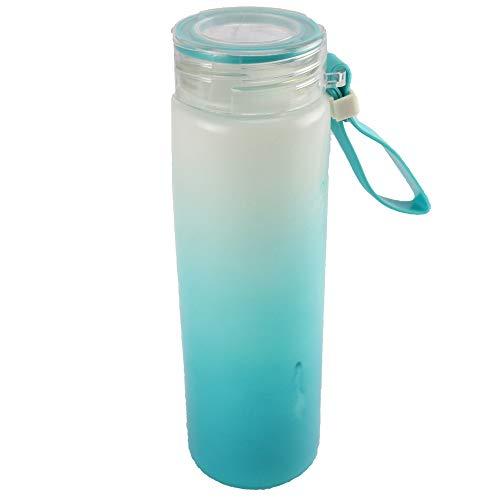 Garrafa de água de plástico 400 ML (Azul)