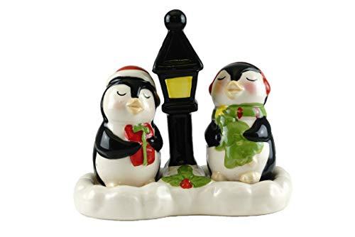 Salz- und Pfefferstreuer mit Weihnachtsmotiven Arctic Penguins
