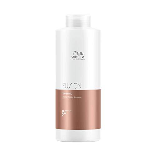 FusionPlex by Wella Professionals Wella Fusion Plex Intense Repair Shampoo (mit glattem Stahl Pin Tail Comb) 33,8 Unzen / 1000 ml - Liter