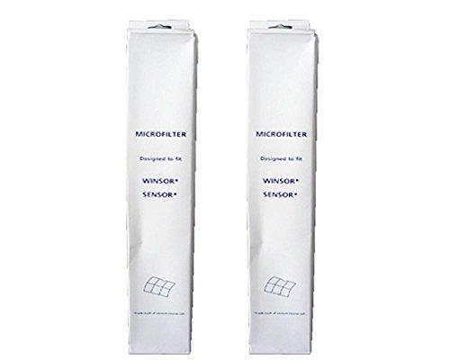 2 set di filtri Windsor per aspirapolvere Sebo serie X, serie G, Kenmore, Essential G1, S12, S15, XP12, XP15, Xp18, X1, X4, X5