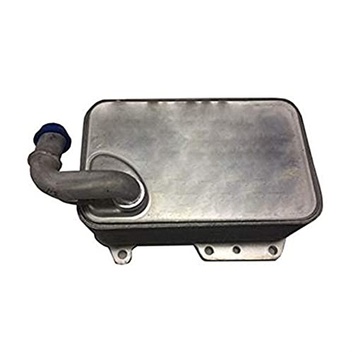 MAIOPA Práctico Enfriador de Aceite del Motor para Audi A4 (8K2, B8) 3.0 TDI 059117021R Accesorio