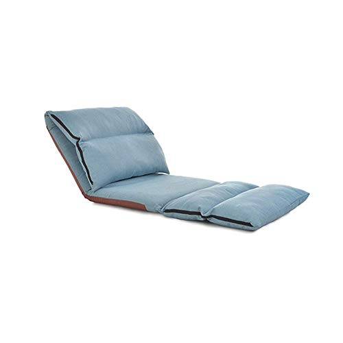 MMMP Sofa Chairs,Multi-functional Tatami Chair Folding Bed,Chair Sofa Adjustable,Memory Foam Floor Chair Gaming Chair,Comfortable Soft Durable Strong 60x68x55cm (Color : C)