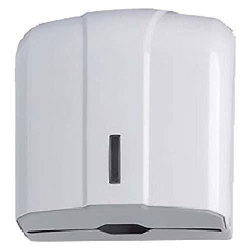 Dispensador de pared para toallas o toallas de mano.