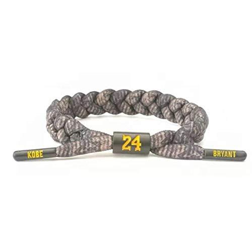 Basketball Star Sports Bracelet Men's Woven Bracelet Bryant Basketball Wristband Bracelet Fashion Memorabilia