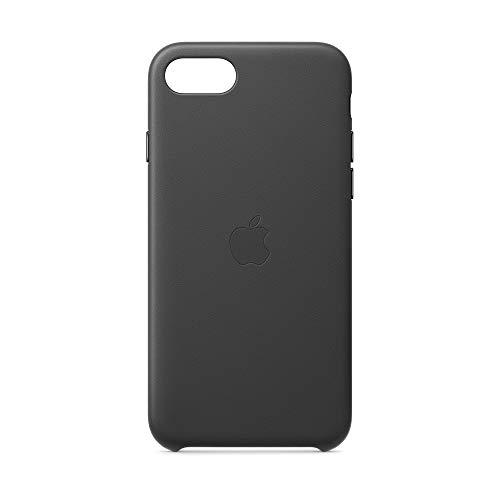Apple Leder Case (für iPhone SE) - Schwarz - 4 Zoll