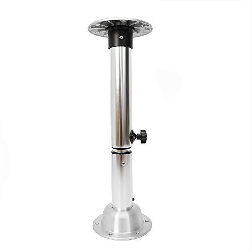 Tischbein HaroldDol Höhenverstellbar Tischfuß RV Yacht Tischgestell Bootstisch Cockpittisch Schreibtischbein, für Wohnwagen, Wohnmobile, Bootsboote