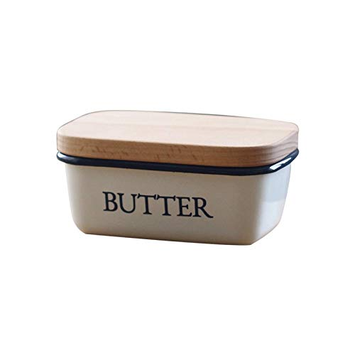 Butter Dishes Butter Container Butter Box Has a Thick Lid and Can Be Used As a Storage Box for Butter Ice Cream Cakes. Butter Dish Is the Best Gift for Family and Friends Butter Holder Storage Butter
