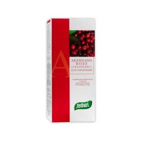 Jugo Concentrado de Arándanos Rojo 490 ml de Santiveri