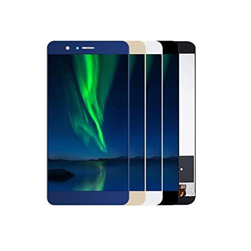Pantalla táctil de visualización 5,7' Pantalla LCD Fit For Huawei Honor 8 Pro Pantalla LCD con Pantalla Táctil De Cristal Digitalizador Reemplazo del Sensor (Color : White no Frame)