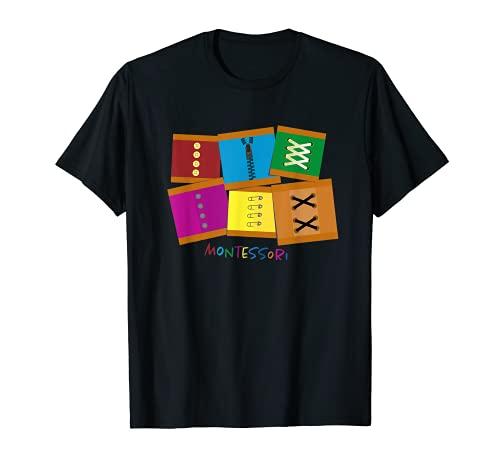 Marcos de vestir Montessori Camiseta