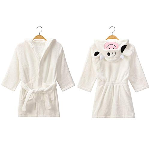 Pijamas Universal Pijamas Albornoz Infantil bebé niña con un Sombrero Pijama Jersey Dibujos Animados Animal Pijamas Ropa Infantil