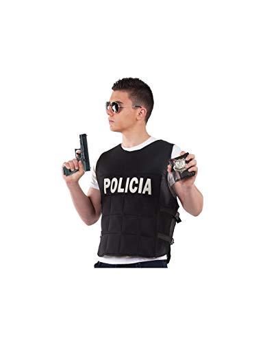 DISBACANAL Chaleco antibalas Disfraz - -, XL