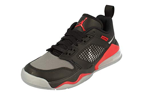 Nike Air Jordan Mars 270 Low GS Trainers CK2504 Sneakers Scarpe (UK 6 us 7Y EU 40, Black Metallic Silver 001)