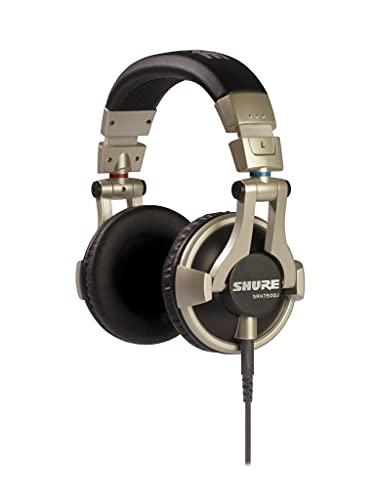 Shure SRH750DJ Professional Quality DJ Headphones