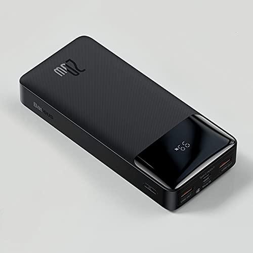 SOTUISA Power Bank 20000mah Cargador Portátil Power Bank 10000 Batería Externa Pd20w Carga Rápida Iphone12 Mijo Banco Pobre