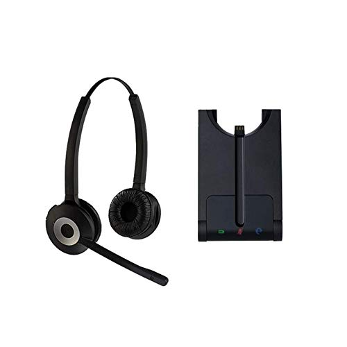 Project Telecom Binaural Business DECT Wireless USB Noise Cancelling Headset | Compatible With Acer Nitro