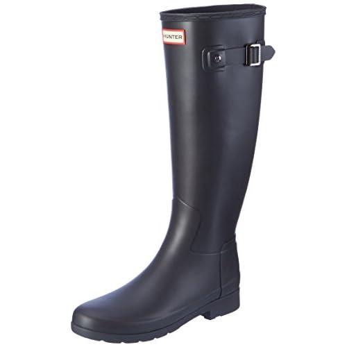 Hunter Original Refined, Stivali di Gomma Donna, Nero (Black), 39 EU