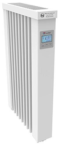 AeroFlow Radiateur électrique Mini 650 avec Briques réfractaires et Multi-contrôleur FlexiSmart (Andorid et iOS) Chauffage à Accumulation de Surface en Tant Que Chauffage d'appoint électrique