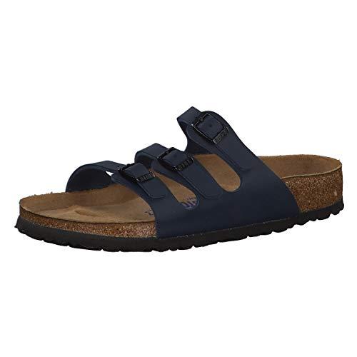 Birkenstock Florida , Chaussures femme, Bleu (554711_BLAU) - 35 EU