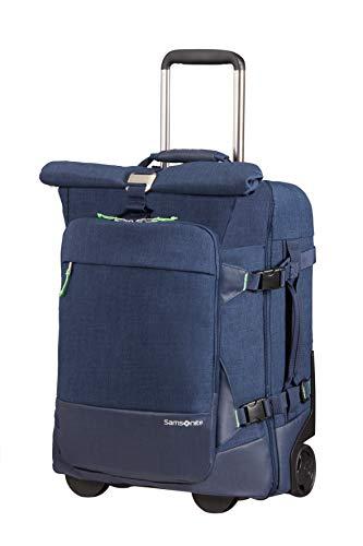 Samsonite Ziproll - Reisetasche S (2 Rollen) Rucksack, 55 cm, 46.5 L, Blau (Night Blue)